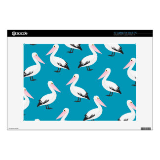Pelican pattern laptop decal