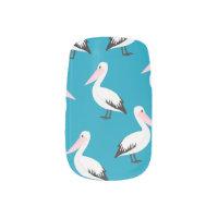 Pelican pattern minx nail wraps