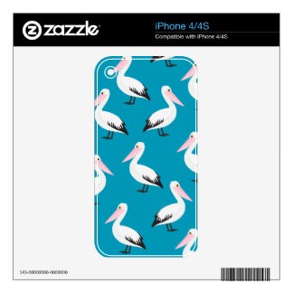Pelican pattern skin for the iPhone 4S