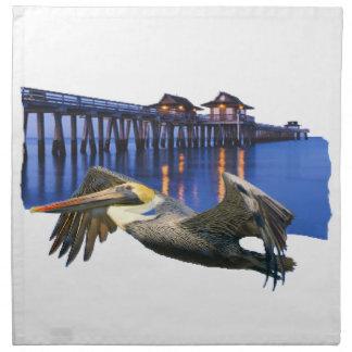 Pelican Pier American MoJo Napkin