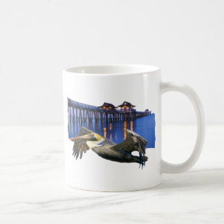 Pelican Pier Classic White Coffee Mug