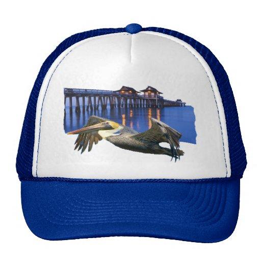 Pelican Pier Trucker Hats