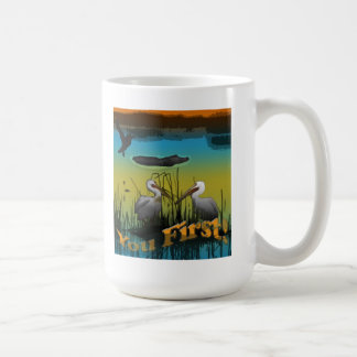 Pelican Scene Coffee Mug