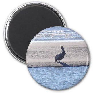 Pelican - Seabrook Island SC 2 Inch Round Magnet