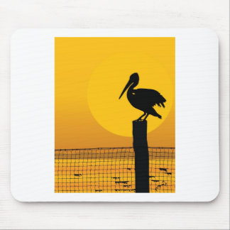 Pelican Sunset Mouse Pad