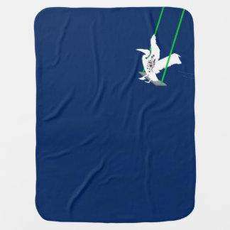 Pelican Swinging Baby Blanket