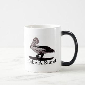Pelican Take A Stand 11 Oz Magic Heat Color-Changing Coffee Mug