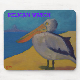 Pelican Watch Mouse Pads