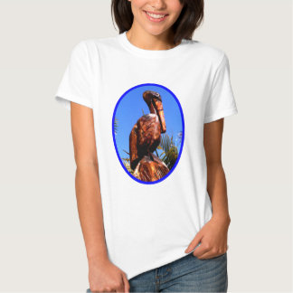Pelican Wooden o Blue The MUSEUM Zazzle Gifts Tees