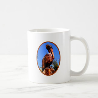 Pelican Wooden o Brown The MUSEUM Zazzle Gifts Classic White Coffee Mug