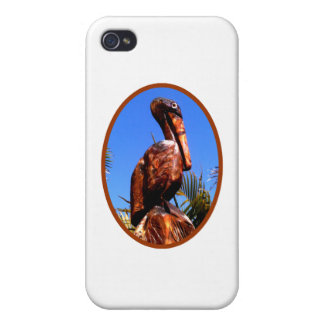 Pelican Wooden o Brown The MUSEUM Zazzle Gifts iPhone 4 Case