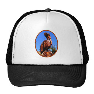 Pelican Wooden o Brown The MUSEUM Zazzle Gifts Trucker Hat