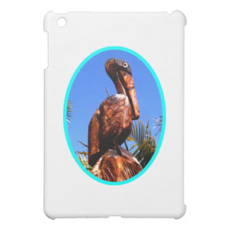Pelican Wooden o Cyan The MUSEUM Zazzle Gifts iPad Mini Cover