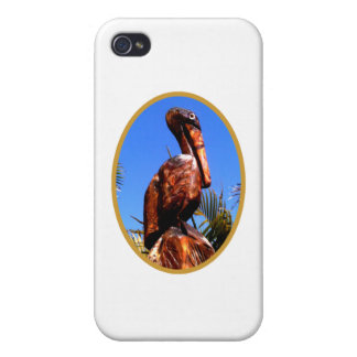 Pelican Wooden o Gold The MUSEUM Zazzle Gifts Cases For iPhone 4
