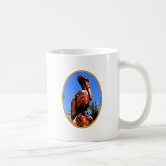 Pelican Wooden o Gold The MUSEUM Zazzle Gifts Classic White Coffee Mug