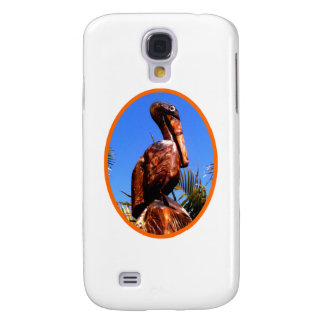 Pelican Wooden o Orange The MUSEUM Zazzle Gifts Galaxy S4 Cover