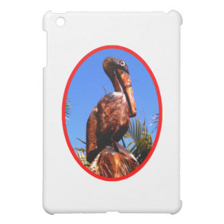 Pelican Wooden o Red The MUSEUM Zazzle Gifts iPad Mini Cover
