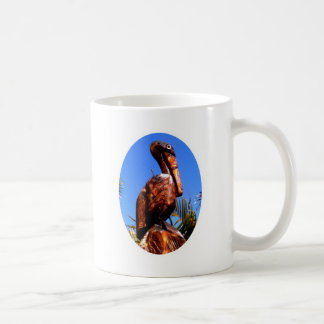 Pelican Wooden o White The MUSEUM Zazzle Gifts Classic White Coffee Mug