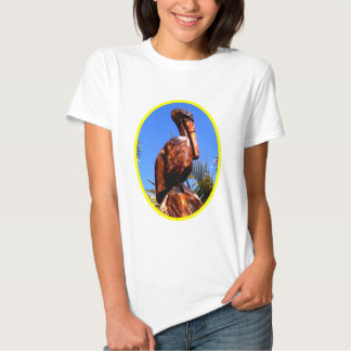 Pelican Wooden o Yellow The MUSEUM Zazzle Gifts T Shirts
