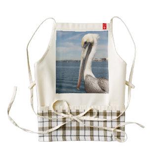 Pelican Zazzle HEART Apron