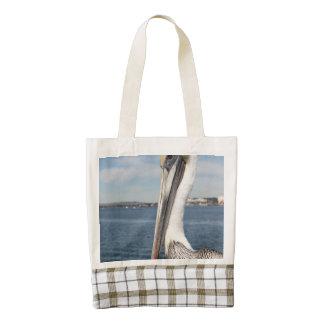 Pelican Zazzle HEART Tote Bag