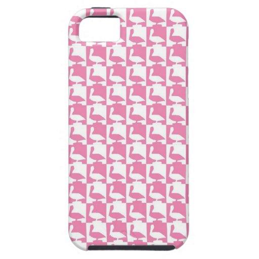 pelicanes rosados funda para iPhone SE/5/5s