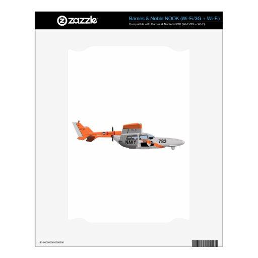 Pelícano 224785 de Cessna O-2A Skin Para El NOOK