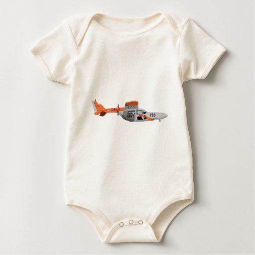 Pelícano 224785 de Cessna O-2A Trajes De Bebé