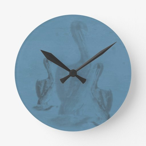 Pelícano azul reloj