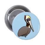 Pelícano de Birdorable Brown Pins