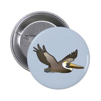 Pelícano de Brown del vuelo Pins