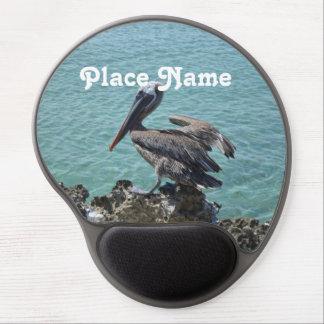 Pelícano en Aruba Alfombrilla Gel