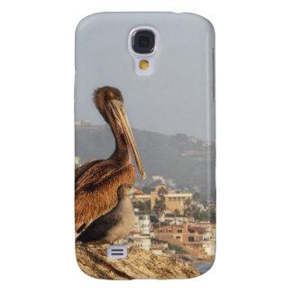 Pelícano en Laguna Beach Funda Para Galaxy S4