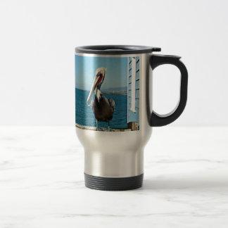 pelícano tazas de café