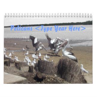 Pelícanos Calendarios