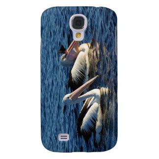 Pelícanos con los pescados funda para galaxy s4