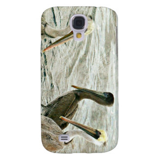 Pelícanos de Monterey Funda Para Galaxy S4