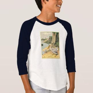 Pelícanos en la playa playera