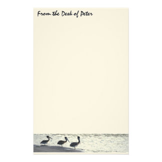 Pelicans at Sunset Stationery