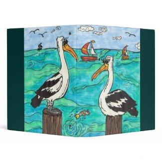 Pelicans Binder binder