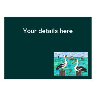 Pelicans Business Cards