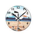 Pelicans Clock