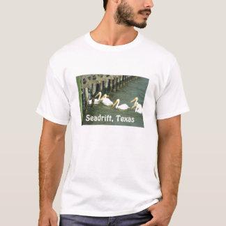 Pelicans Crossing, Seadrift, Texas T-Shirt