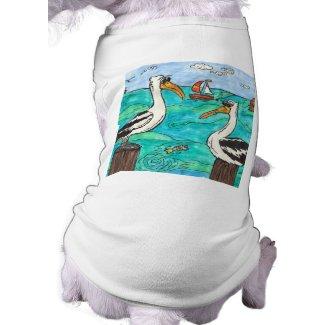 Pelicans Dog T-shirt petshirt