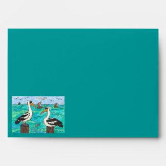 Pelicans Envelope