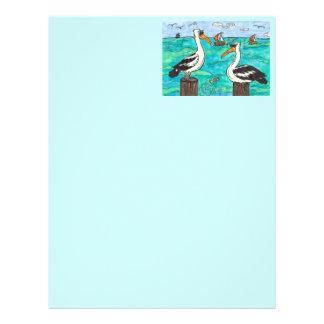 Pelicans Letterhead