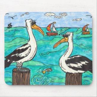 Pelicans Mousepad mousepad