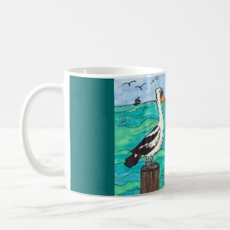 Pelicans Mug mug