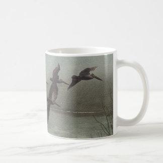 Pelicans of Pacific Coast Highway Coffee Mug