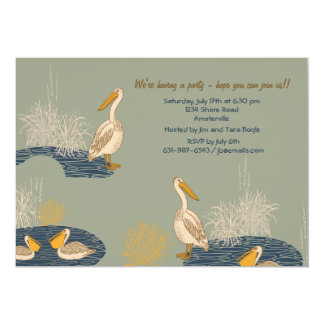 Pelican's Pond Invitation